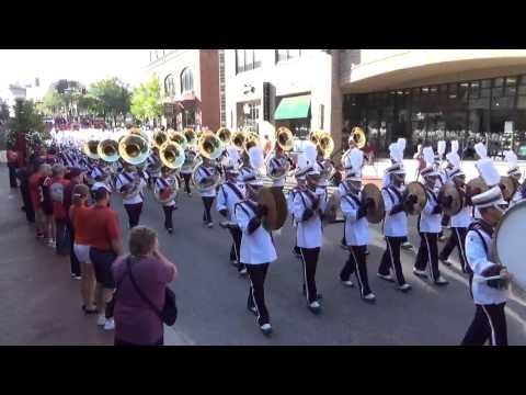 Marching Virginians Homecoming Parade 2014