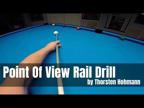 POV billiard exercise played by World Champion Thorsten Hohmann
