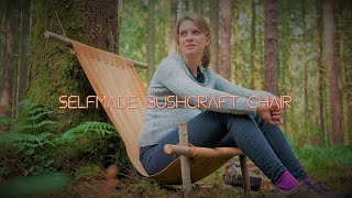 Simple selfmade bushcraft hanging chair - Vanessa Blank