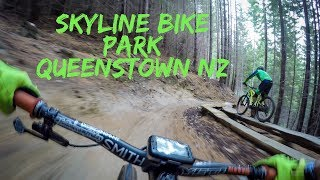 Skyline Bike Park DH Laps | Queenstown NZ MTB