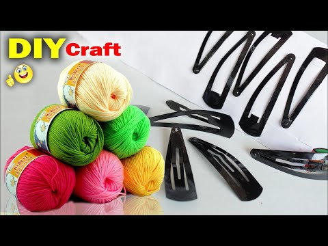 Best Craft Idea Out of Hair Pin | Wall Decoration Idea at Home 2018 | DIY Room Decor Idea | Handmade