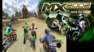 MX 2002 Featuring Ricky Carmichael ... (PS2)