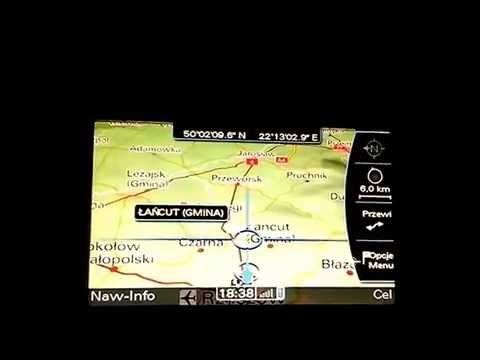 Audi A4 B8 S Line Nawigacja Mmi 3g High Polskie Menu I Lektor Youtube