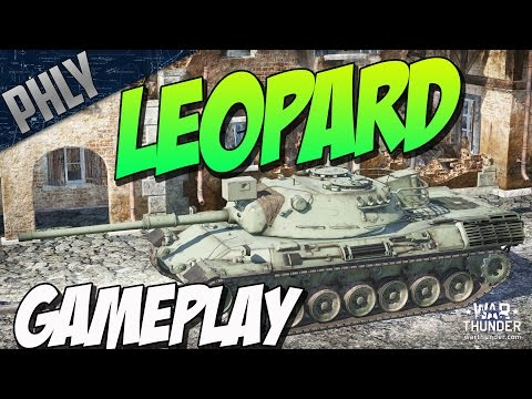 War Thunder Tanks! New Tank - Leopard 1 Gameplay - BEST AMMO STORAGE EVER