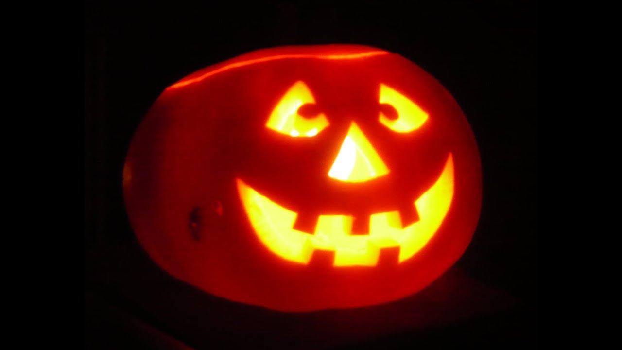 halloween k rbis schnitzen mit beleuchtung schnell einfach diy youtube. Black Bedroom Furniture Sets. Home Design Ideas