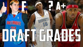Grading EVERY 2003 NBA Draft Lottery Pick 17 Years Later...