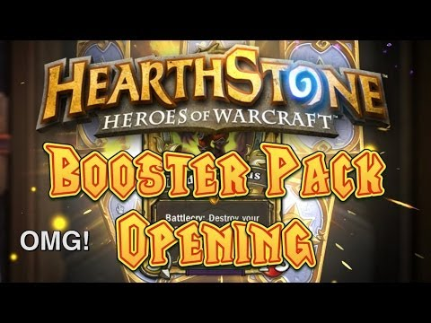 Force Opens 50...AGAIN! (Hearthstone Booster Packs)