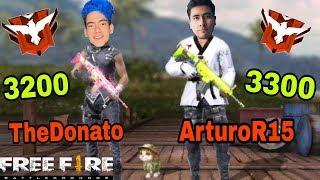 👽 THEDONATO Y ARTUROR15 👽 METIENDO TERROR EN *CLASIFICATORIA* |ArturoR15