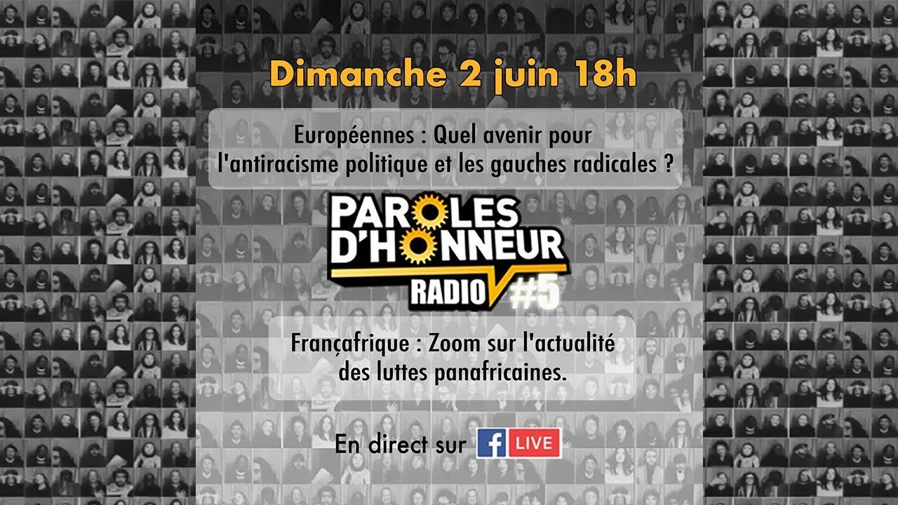« Européennes : Quel avenir ? / Actualité des luttes panafricaines » (PDH Radio #5)