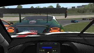 Rfactor 2 GT3 DLC Race - Callaway C7R - VR Gameplay