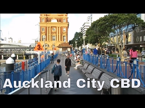 Auckland City CBD, New Zealand, Long version