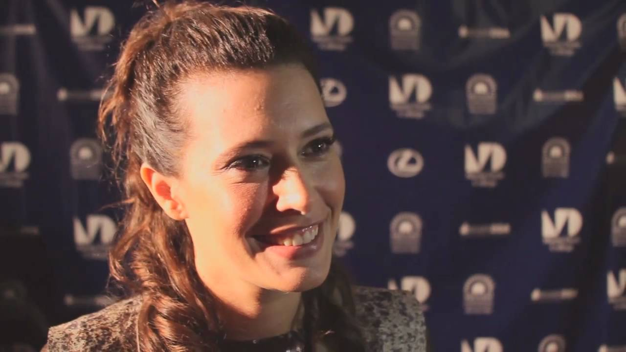 Angie Cepeda Scene angie cepeda red carpet interview at the 2011 miami international film  festival