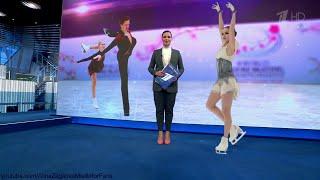 Alina Zagitova World Champs 2019 SP Reportages D