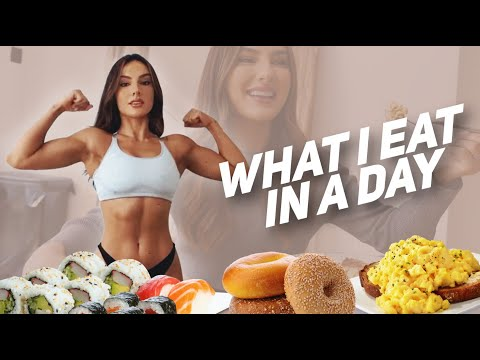 WHAT I EAT IN A DAY // REALISTIC AND FILLING - Krissy Cela