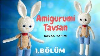 Amigurumi Tavşan Yapımı Bölüm 1