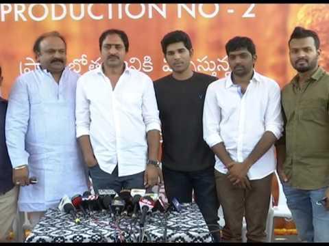 Allu Sirish New Movie Opening Video