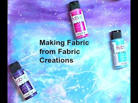 Vlogging and Making Fabric with Fabric Creations