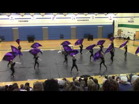 Spanish Springs High School Colorguard - 3/5/16
