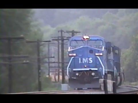Conrail in the 1990's: REEL 23 Amsterdam,NY  Fonda, NY and Springfield, MA