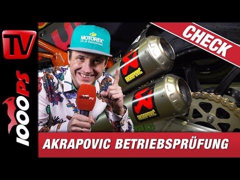 Akrapovic! Wie ein Auspuff entsteht! Betriebsprüfung in der Fabrik.