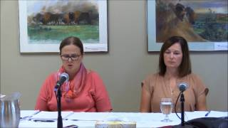 News Conference - Release of Tubal Ligation External Review Report- July 27, 2017