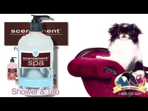 Best Shot's Scentament Spa Pet Bath Collection