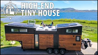 Luxury, High-End Tiny House After Leaving Ex Large Home