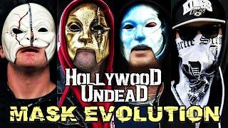 HOLLYWOOD UNDEAD - MASKS EVOLUTION AND UNMASKED (2005 - 2020)