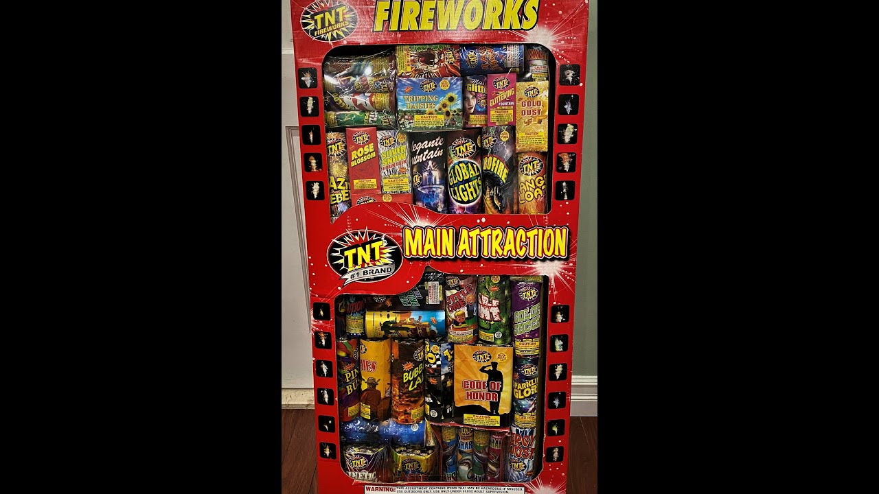 TNT Fireworks - Main Attraction Assortment Unboxing