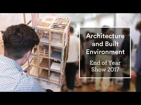 Department of Architecture and Built Environment | End of year show 2017