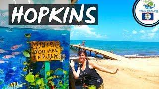 Visit Belize - Arriving in Hopkins (2019) Backpacking Central America
