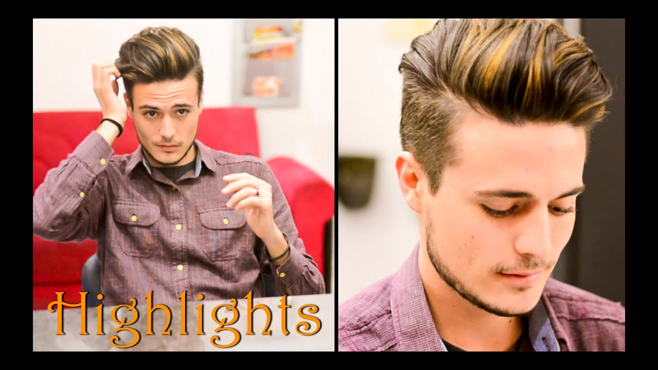Mens Hair Highlights Natural Streaks Mariano Di Vaio Inspired