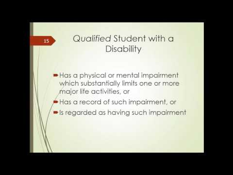 Students with Food Allergies and Disability Laws: High School to College