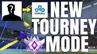 NEW TOURNAMENTS MODE WITH THE NEWEST C9 MEMBER | INSANE CROSS MAP AIR DRIBBLE IN GRAND FINALS