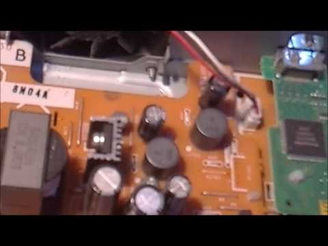 Panasonic DVD HDD Capacitor Failure Points