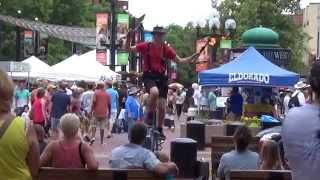 Pearl Street   Boulder   Colorado   June 21  2014