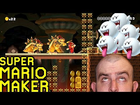 Some Steaming Twitter Levels!  Super Mario Maker