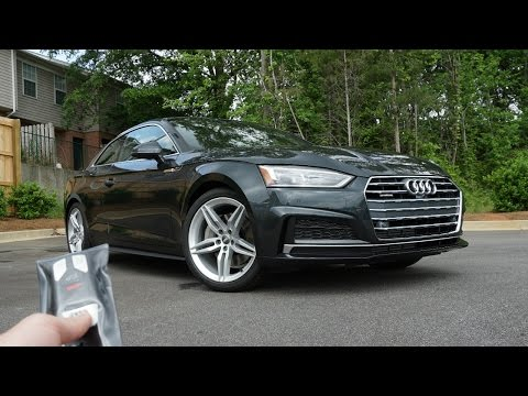 2018 Audi A5 Coupe: Start Up, Exhaust, Test Drive and Review