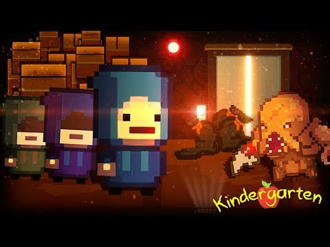 SO WE FOUND THE SECRET HIDDEN STUDENTS. || Kindergarten 2 (Part 8)
