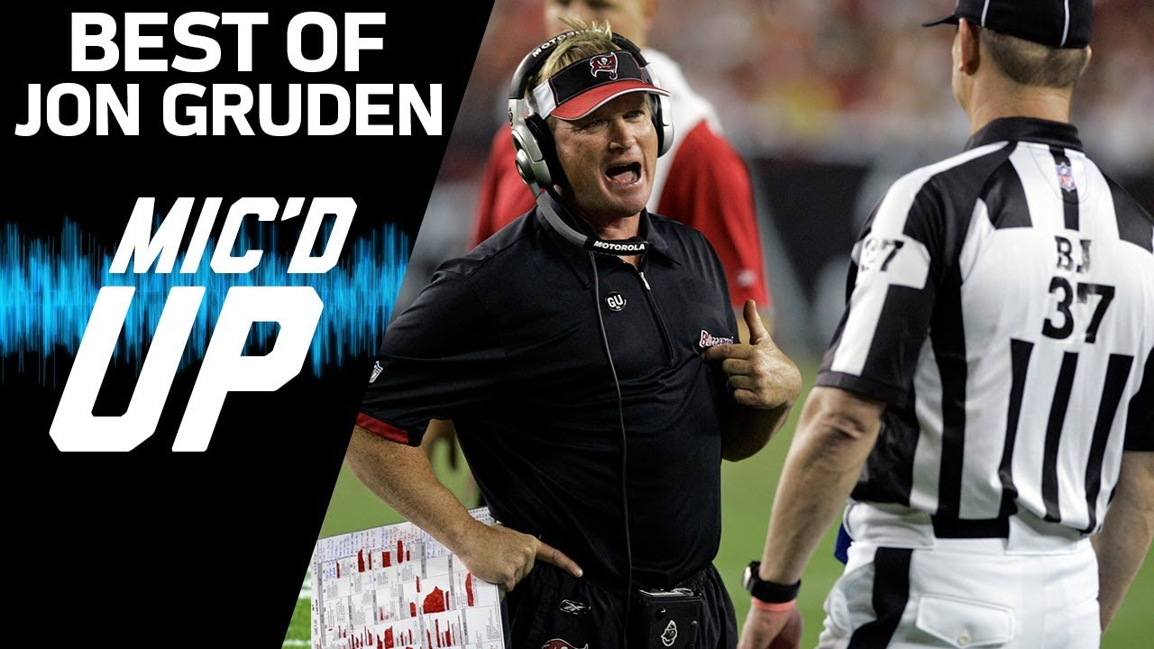 jon-gruden-s-best-mic-d-up-moments-sound-fx-nfl-films
