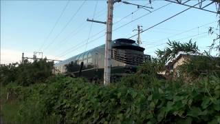 TWILIGHT瑞風の岸本駅折り返しと、隣の伯耆大山都の区間での並走まとめ(2017/6/9)