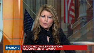 Amazon Reconsidering New York Headquarters Site: WaPo