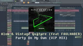 Alok, Vintage Culture - Party On My Own (Drop) (FLP Remakes)