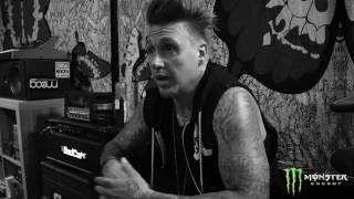 Papa Roach in the studio - this music is our medicine!