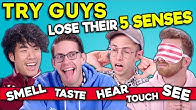 The Try Guys Play A New Game Without Their Senses   SENSELESS