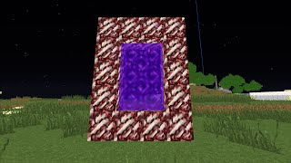 Minecraft - How to make a Portal to the FUTURE!! (No mods)