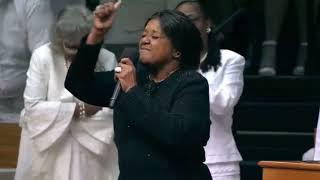 "Reverend Clay Evans Funeral: Pastor Shirley Caesar sings ""Never Grow Old"""
