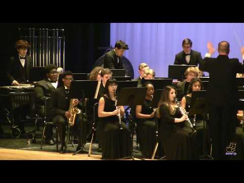 Middle Creek High School Wind Ensemble performs Apollo Unleashed on 3/21/2018
