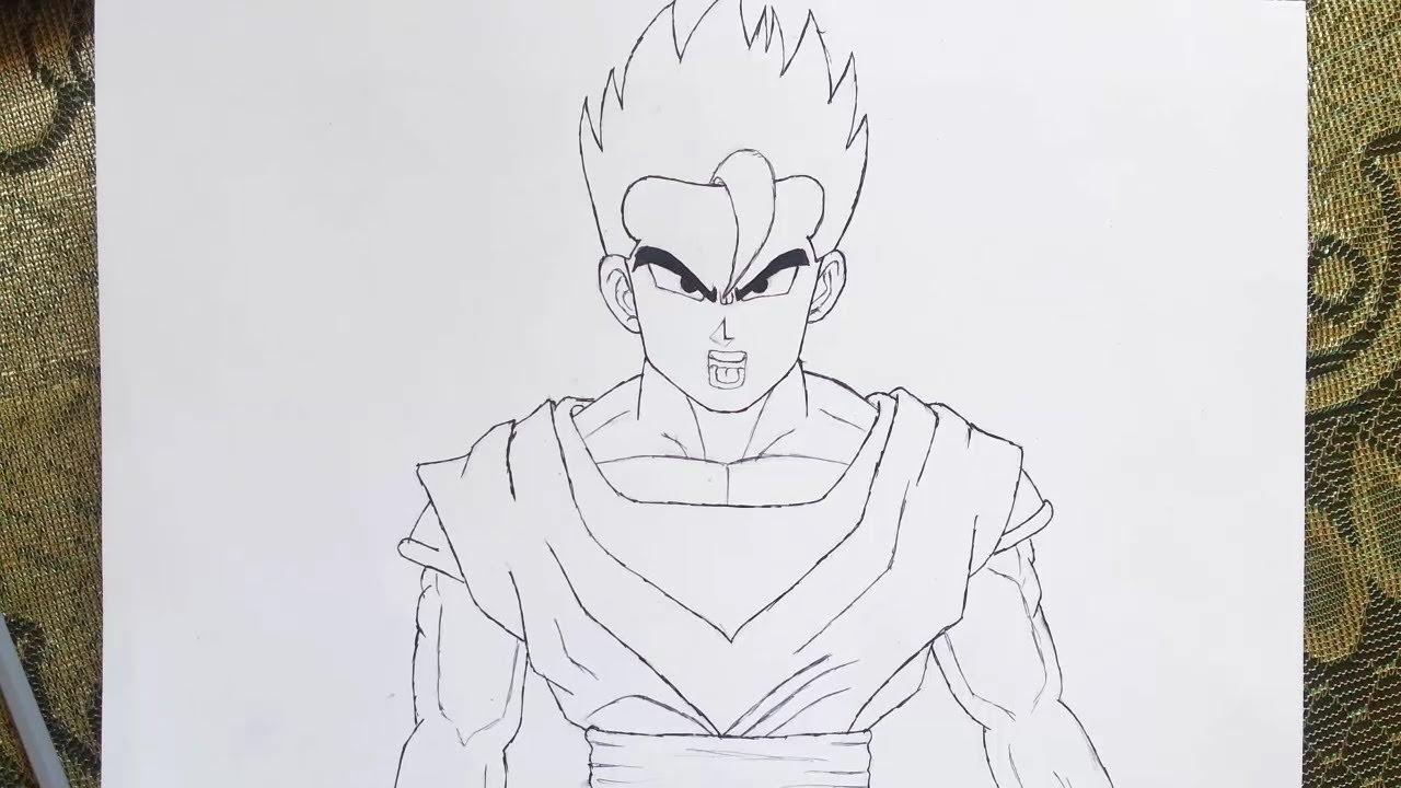 رسم جوهان من دراغون بول سوبر Dragon Ball Super خطوة بخطوة