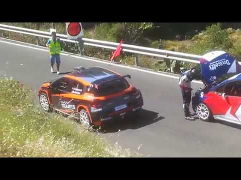 FIA ERC 43° Rally Islas Canarias – 2019, Gran Canaria (Leg 2) Flat tire, no crash :) from YouTube · Duration:  3 minutes 33 seconds